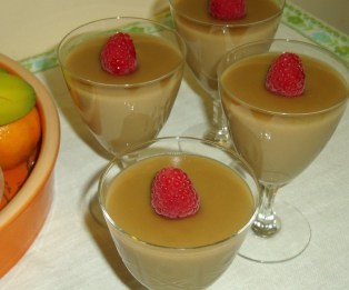 Vegan Butterscotch Pudding