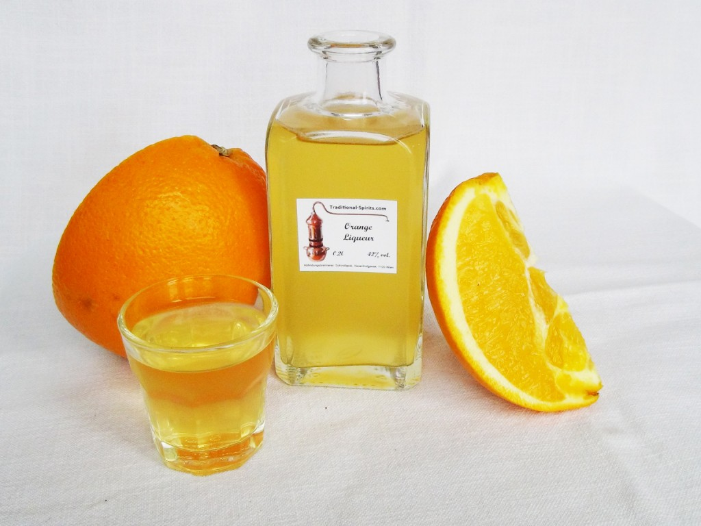 ... But homemade orange liqueur is just right...and it's a blast to make
