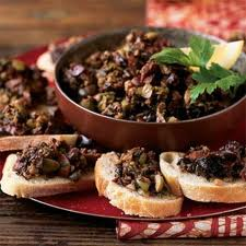 Tapenade Olive  is a great spread to serve with crackers for an easy gourmet appetiser or hors d'ouerves. This Tapenade Olive recipe is both vegetarian and vegan, and can be prepared in just a few minutes. You might also want to try this recipe for Tapenade Olive with sun dried tomatoes, or if you like spicy food, try this version of Tapenade Olive with peppers and hot sauce.
